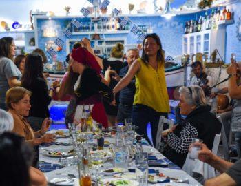 Greek night party